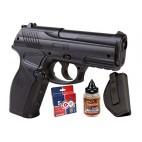 Kit de Pistola Balines Crosman Semi Automática