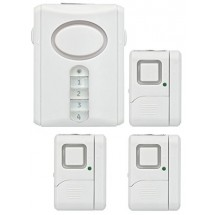 GE Personal Security Alarm Kit, Includes Deluxe Door Alarm with Keypad Activation and Window/Door Alarms, Easy Installation, DIY