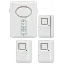 GE Personal Security Alarm Kit, Includes Deluxe Door Alarm with Keypad Activation and Window/Door Alarms, Easy Installation, DIY
