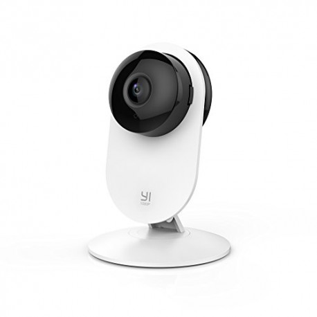 YI 1080p Home Camera, Indoor Wireless IP Security Surveillance System with Night Vision for Home / Office / Baby / Pet Monitor-C