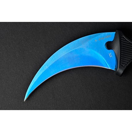 FadeCase Karambit Classic - Tiger Tooth - Real CSGO Knife Skin Counter Strike Global Offensive Full Tang Fixed Blade