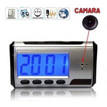 Reloj de Escritorio con Camara DVR y Sensor de Movimiento