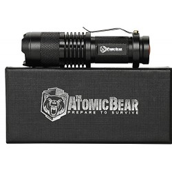 SWAT Tactical LED Flashlight - Small and Powerful Pocket Size LED Flashlight to Dominate the Darkness - Self Defense - Zoomable