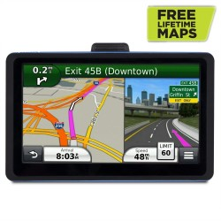 Vehicle GPS Navigation, 7 inch Touch Screen + 8GB Voice Prompt GPS Navigation