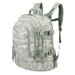 WolfWarriorX 3day Expandable Backpack with Waist Pack Large Rucksack Tactical Backpack