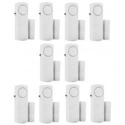 Hiistar-Alarma antirrobo inalámbrica para puerta de casa, sistema de alarma de seguridad con sensor magnético.