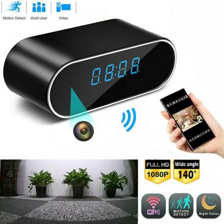 Reloj Despertador con cámara de seguridad